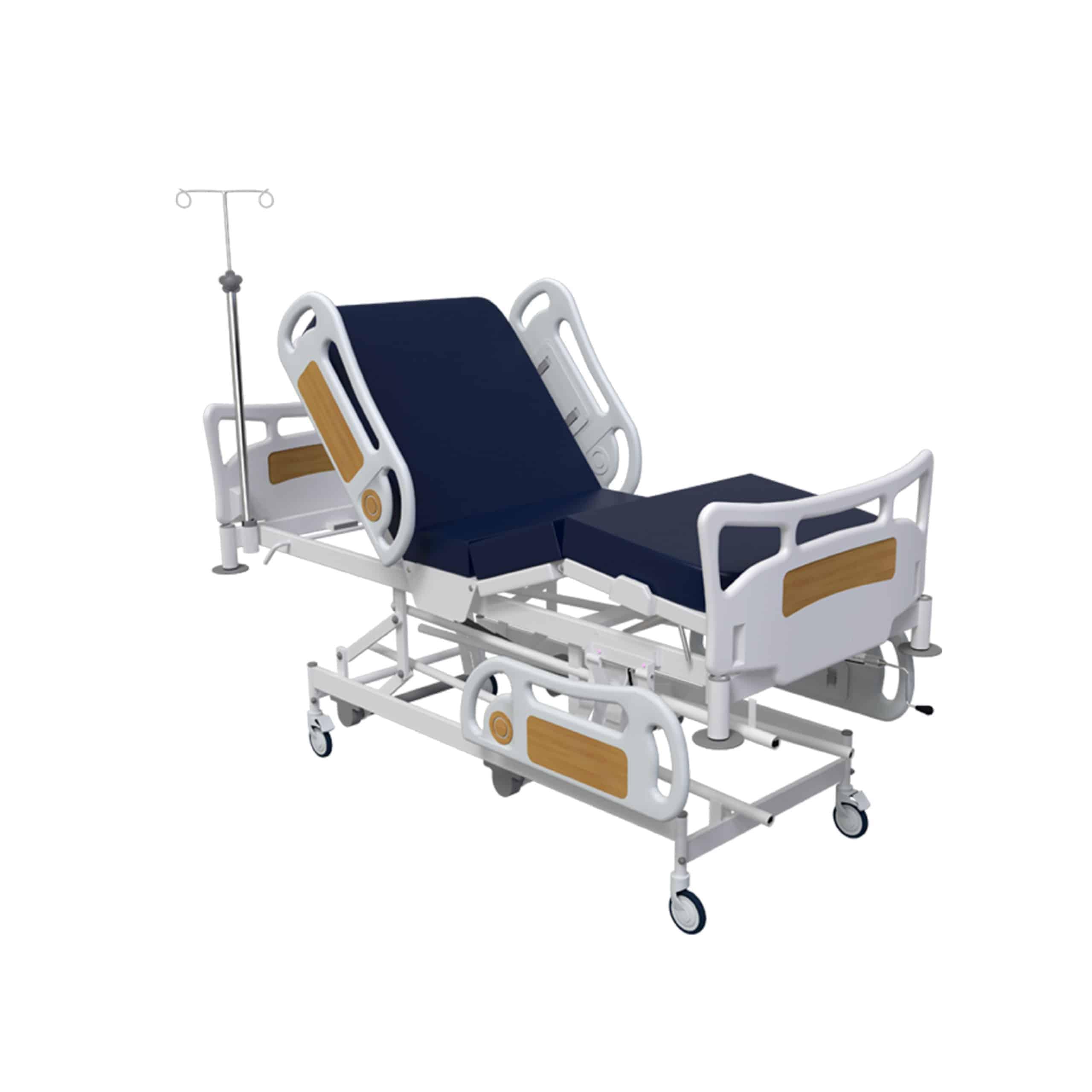 Manual operation hospital ICU beds