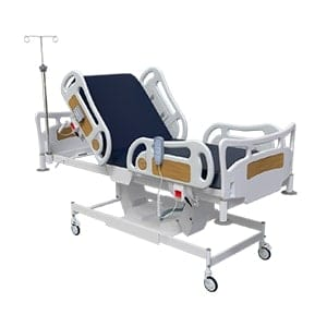 Fully Motorized Operation ICU Bed On Wheels