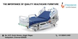 Quality, comfortable and moving ICU beds on white background