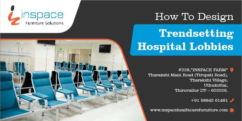 Hospital lobby area with neatly arranged healthcare chairs - Get the best from Inspace